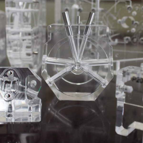 Precision Engineered Plastic Products that Have Been Vapor Polished