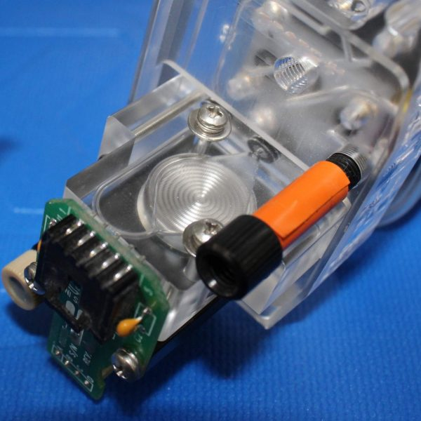 Precision Machined Plastic Manifold Assembly with Sensor Attached