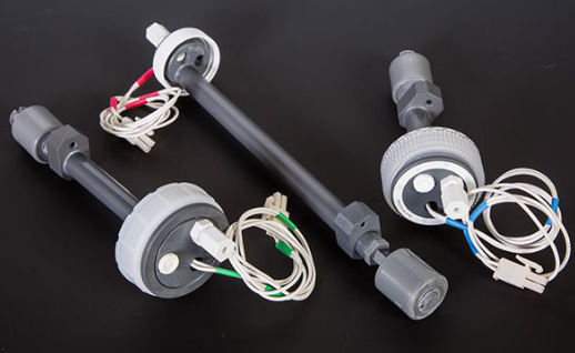 Custom Level Sensing Bottle Cap Assemblies with Integrated Electronics for Reagent Storage Bottles