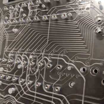 bonded acrylic microfluidics