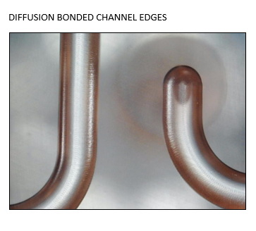 Diffusion Bonded Channel Edges