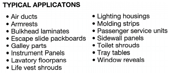 Applications of KYDEX®